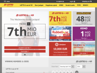 Lotto-sh.de screenshort