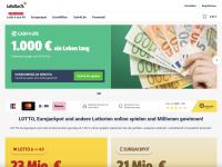 LottoStar24.com screenshort